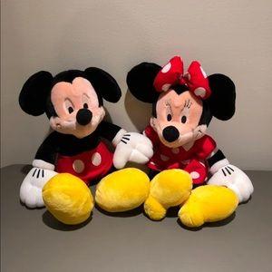 Disney Mickey & Minnie Mouse Plush